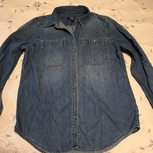Chaps Long Sleeve Denim Shirt